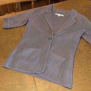 LC LAUREN CONRAD Mauve Cardigan Knit Sweater XS
